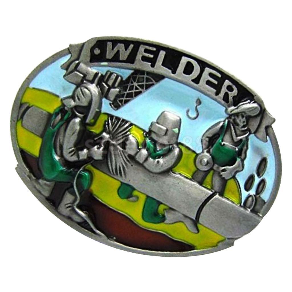 Vintage Western Cowboy Lumberjack Belt Buckle Cool Design For Mens Jeans Mechanic Tool Buckle