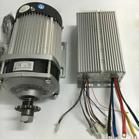 UNITE E scooter DC Motor 48V 60V 1000W 1200W Electric Bike Brushless Motor For Electric Vehicle With Brushless Motor Controller