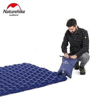 Naturehike Outdoor 2 Person Inflatable Mattress Ultralight Sleeping Pads Air Mattresses Camping Air Cushion With Fill Air Bag 4