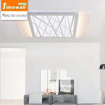 Aliexpress LED Wohnzimmer Lampe Rechteckige Decke Lampen Modernen Minimalistischen Ultradnne Dimmen Beleuchtung Grosshandel Von