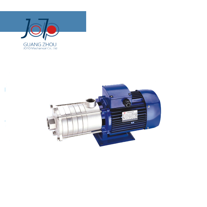 DW (S) 5-50/110 380 V triphasé 50Hz horizontale pompe centrifuge en acier inoxydable à plusieurs étages