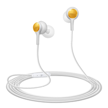 цена на Wire control earphone HD mic HIFI bass stereo noise cancelling three dimensional reverberation sport music game HD voice headset
