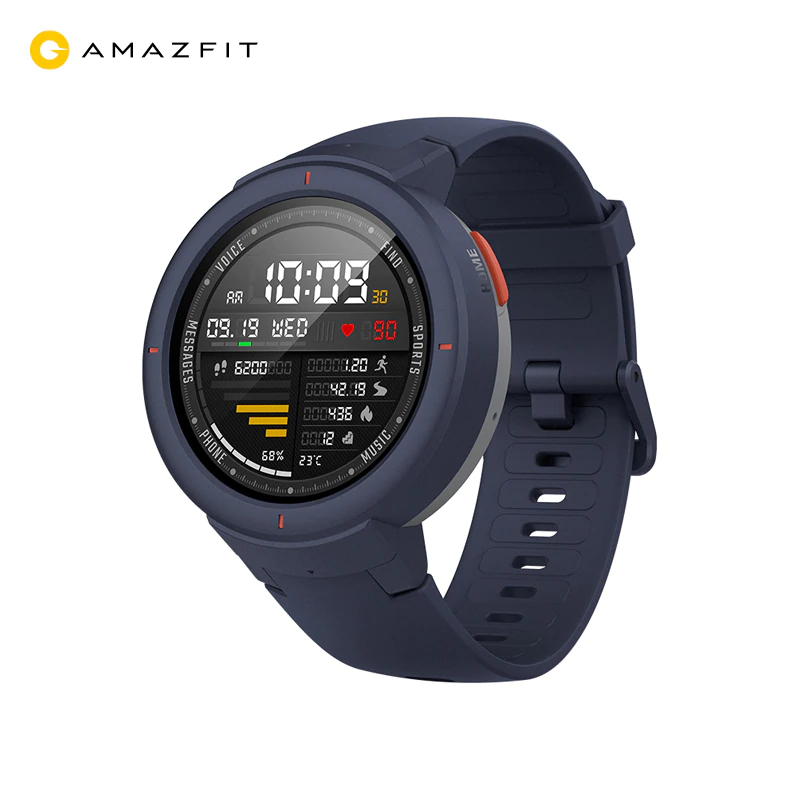Smart watch Xiaomi Amazfit Verge (1.3'', AMOLED, Android, 11 modes) lemfo waterproof support siri feature smart watch for ios android