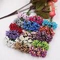 144 шт. миниатюрные жемчужные ягоды, искусственные тычинки, цветок для свадьбы, украшение для дома, настил, венок «сделай сам», скрапбукинг, ре...