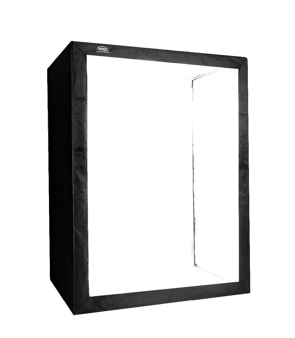 DEEP LED profesional portátil Softbox Box 120 * 80 * 160 cm LED - Cámara y foto - foto 2