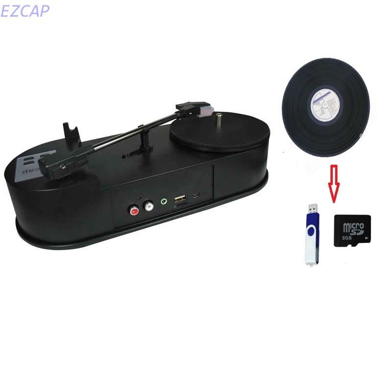 2017 new vinyl converter card convert vinyls to mp3 file easy to connection with USB disk or Micro SD Card Free shipping