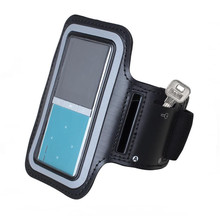 MP3 Player Case Running Arm Band Sport Leather Armband Case Cover for Ipod nano 4th 5th ONN W6 W7 W8 RUIZU X06 BENJIE C1 K9 C6