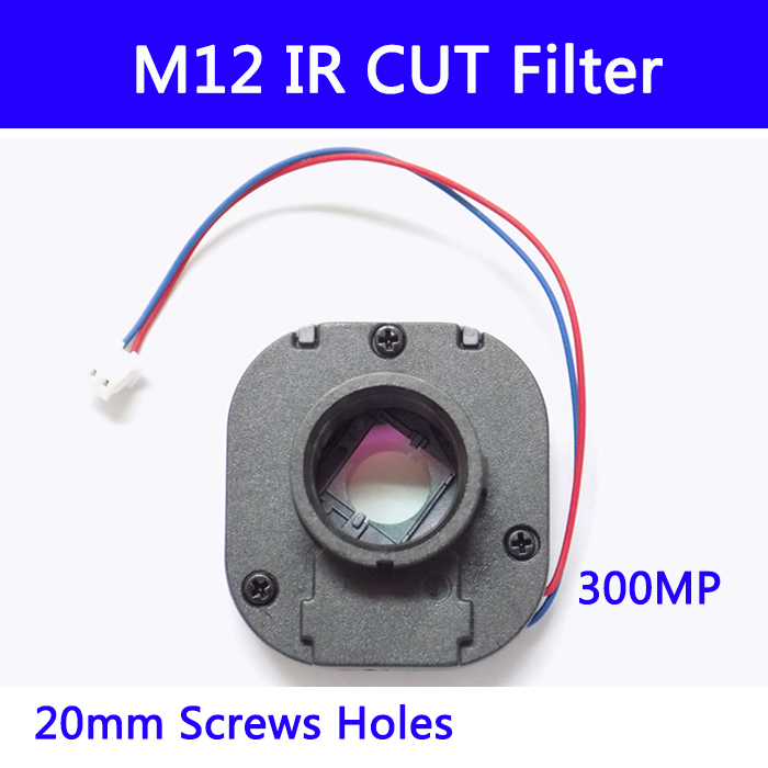 10pcs/ M12 IR Cut Filter IR-CUT Double Filter Switcher For Cctv IP AHD Camera 3MP Day/night 20MM Lens Holder 7213