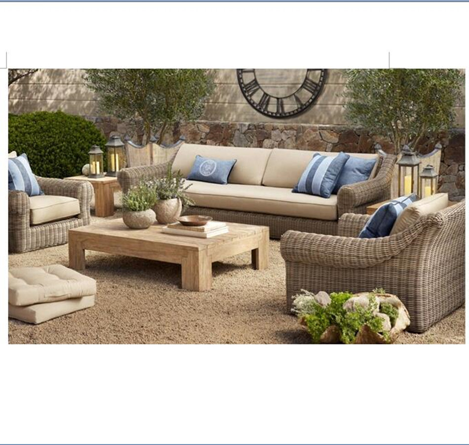 Arrival Outdoor Wicker Garden Style Sofas Furniture China-in