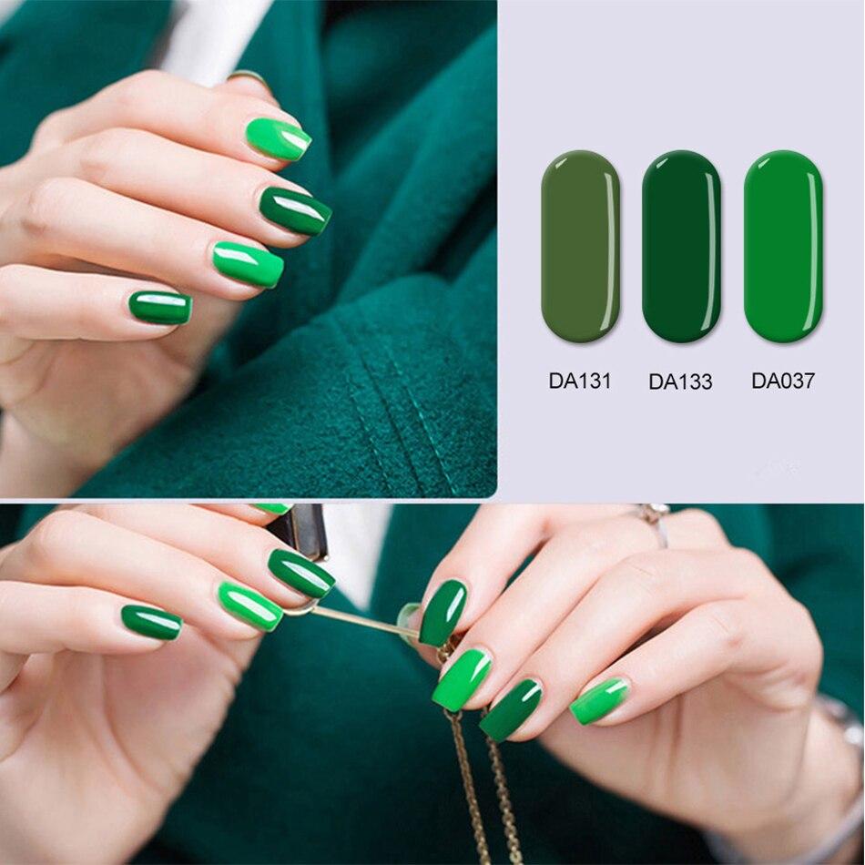 MONASI UV Gel Nail Polish Finger Nail Gel Polish Varnish Lacquer ...