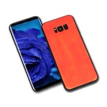 100pcs Thermosensitive Color Change Cases PU For Samsung S8 Plus S7 S6 Edge J5 7 Temperature Sensing Thermal Sensor Heat Cover