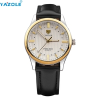 YAZOLE Wrist Watch Men Top Luxury Famous Wristwatch Male Clock Quartz Watch Hodinky Quartz Watch Relogio