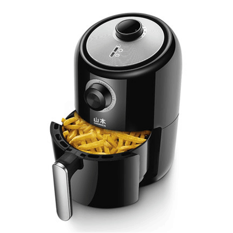 220V Mini 2.2L Electric Air Fryer Smokeless And Oilless French Fries Maker Machine Non-stick Household Electric Food Fryer EU/AU