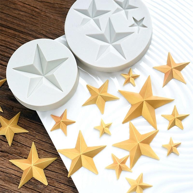 1 шт., 1 4 отверстия, форма для шоколада в виде цветка звезды, силиконовая форма для торта конфета, ледяной пресс формы для выпечки, 3D Пищевая силиконовая форма|molde silicone|mold silicone cakebaking silicone mold | АлиЭкспресс