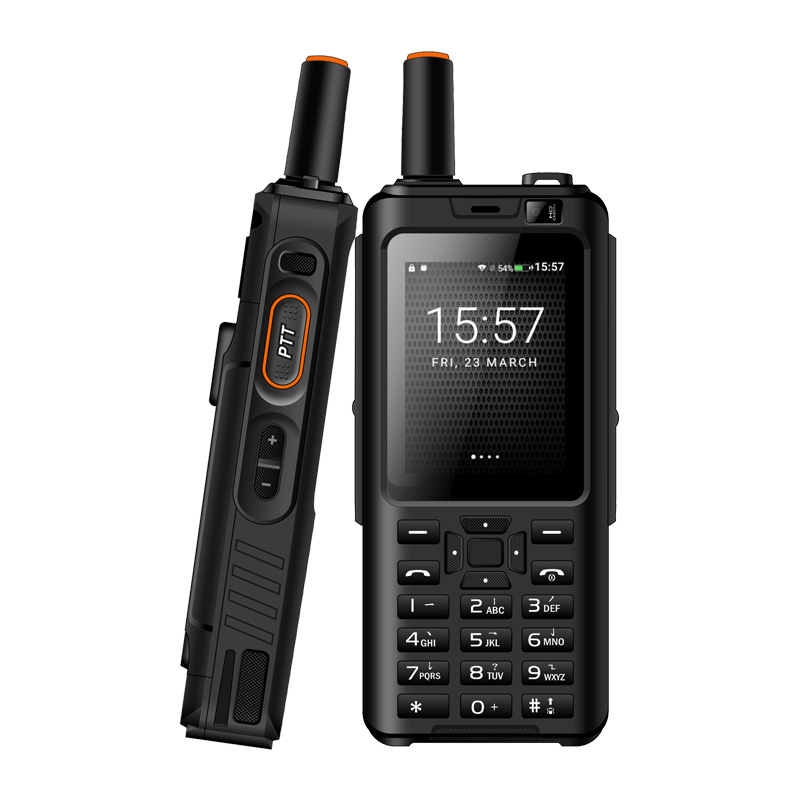 UNIWA Alpes F40 teléfono móvil Zello Walkie Talkie IP65 impermeable FDD LTE 4G GPS Smartphone MTK6737M Quad Core 1GB + 8GB teléfono móvil - 1