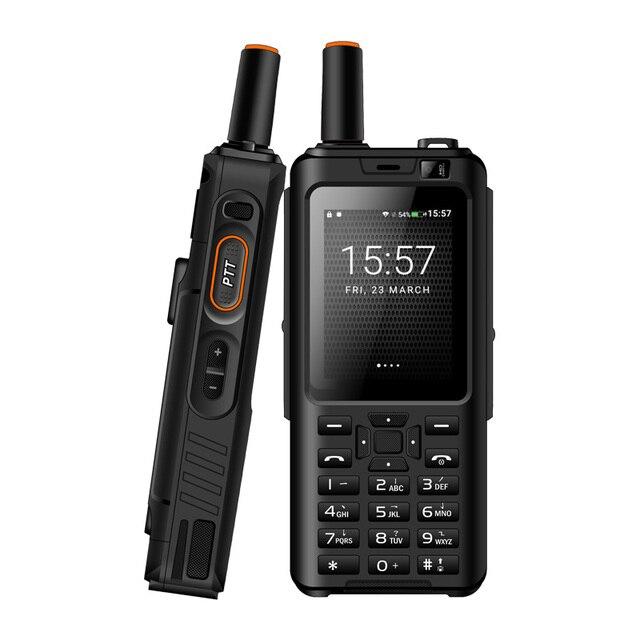UNIWA Alpi F40 Del Telefono Mobile Zello Walkie Talkie IP65 Impermeabile FDD LTE 4G GPS Smartphone MTK6737M Quad Core 1GB + 8GB Cellulare
