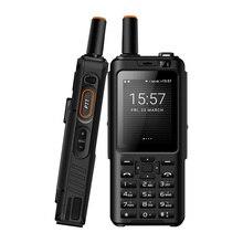 UNIWA Alps F40 الهاتف المحمول زيلو اسلكية تخاطب IP65 مقاوم للماء FDD LTE 4G لتحديد المواقع الهاتف الذكي MTK6737M رباعية النواة 1GB + 8GB الهاتف المحمول