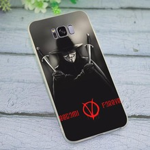 Case for Samsung Galaxy A40 V For Vendetta Phone Cover for A50 A70 J3 J5 J6 J7 A5 2017 A6 A7 2018 A8 A9 A10 A20 A30 стоимость