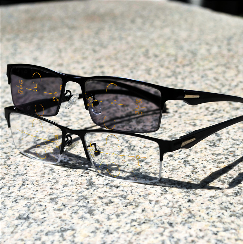 Damenbrillen Lesebrillen Methodisch 2019 übergang Sonne Photochrome Lesebrille Asymptotisch Progressive Lesebrille Männer Presbyopie Multifokale Gläser Nx