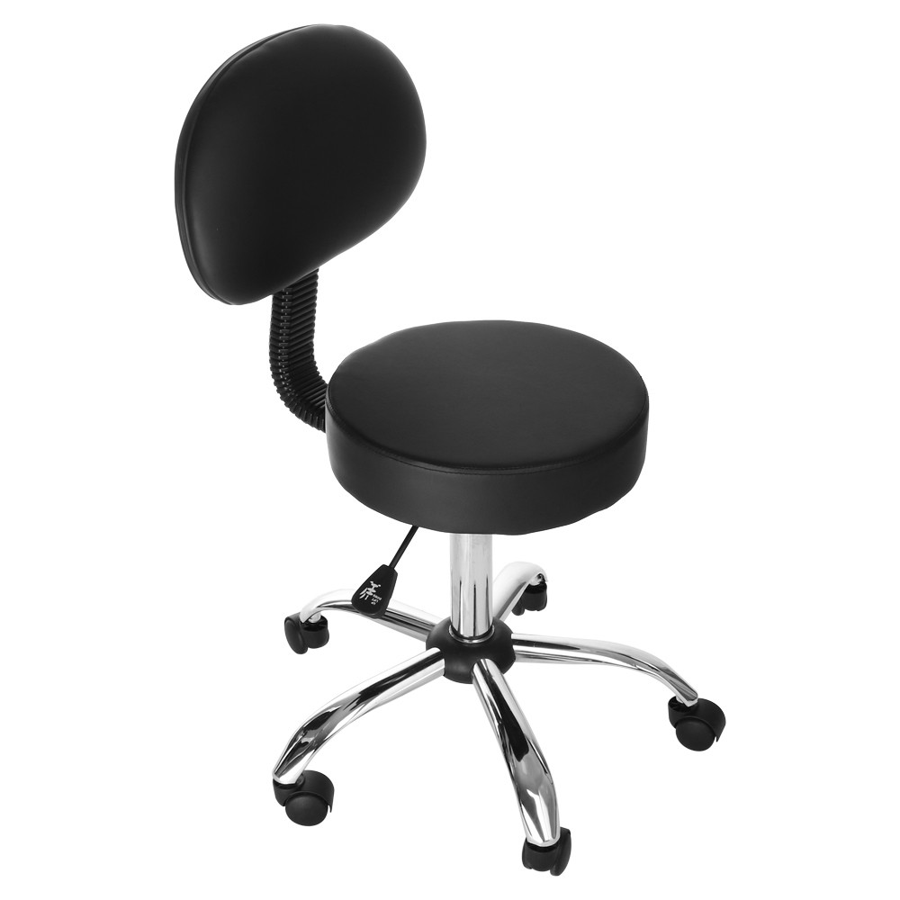 Rolling-Stool Tattoo-Equipment Office Medical Beauty-Stool-Chair Back-Support Adjustable