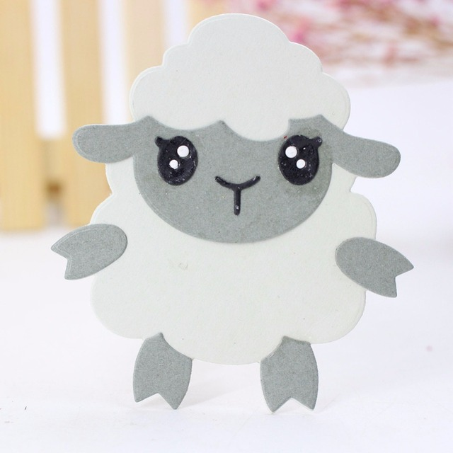 Gowing 89x73mm sheep metal dies cutting for scrapbooking dies metal gowing 89x73mm sheep metal dies cutting for scrapbooking dies metal easter diy gift card craft dies negle Gallery