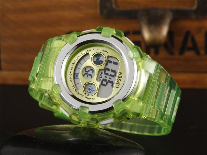 OHSEN Kids Watches Children Digital LED Fashion Sport Watch Cute Boys Girls Wrist watch Waterproof Gift Watch Alarm Kids Clock (13)