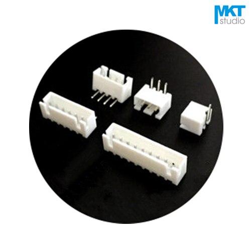 1000Pcs XH 2.54mm Pitch Right Angle Pin Male Box Header Wafer 5P 6P 7P