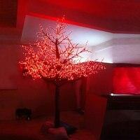 4 Mètres 4480 led 3 changement De Couleur extérieure éclairée artificielle fleur de cerisier arbres de noël avec des lumières pour la décoration extérieure