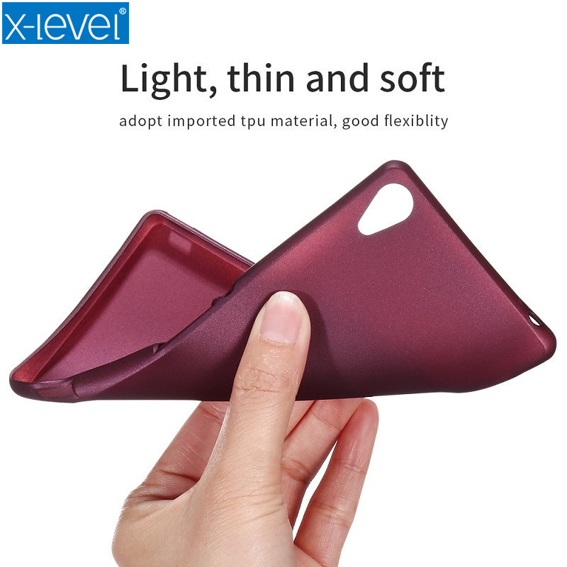2017 X-Level New TPU Phone Case For Sony
