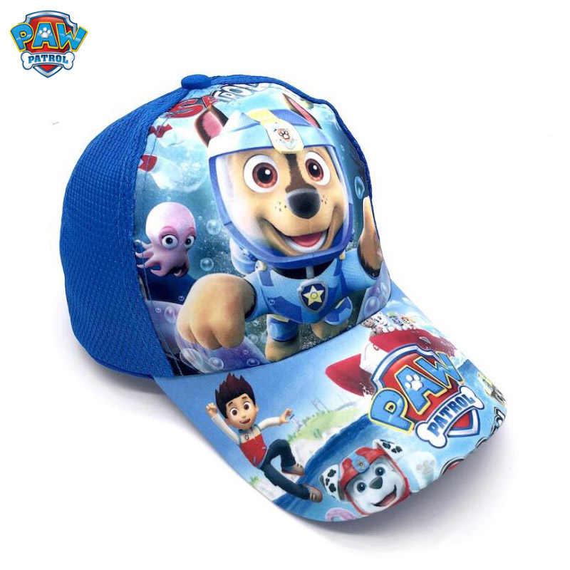 Paw Patrol lindo niños verano gorra de béisbol cachorro impreso fiesta moda tocado niños cumpleaños regalo