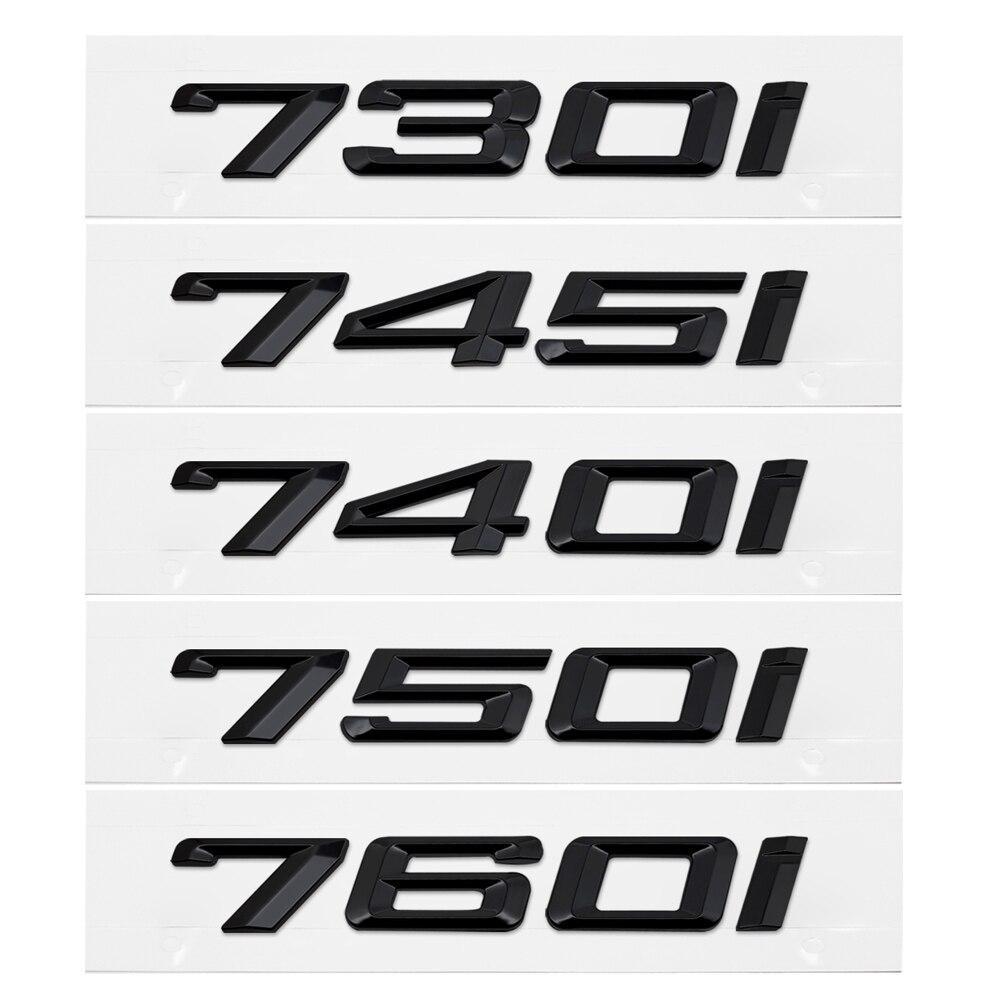 Tự Động Decal Cho Xe BMW 7 Series 730i 740I 745I 750i 760i E65 E38 E32 GT Kim Loại Nhựa Sau Ô Tô Công Suất miếng Dán Kính Cường Lực Quốc Huy Huy Hiệu Trang Trí|for bmw|accessori autocar accessories - AliExpress