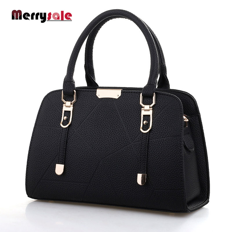 Women's handbag 2017 new bags PU leather handbags highh quality