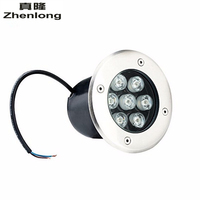 Underground Light 7W LED Buried Recessed Floor Lamps Floor Uplighter Garden Landscape Stair Lighting AC85 265V DC12V