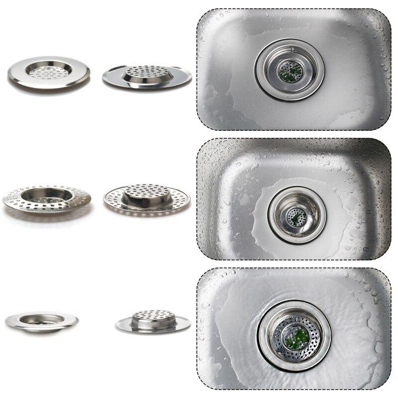 Высокое качество нержавеющая сталь Кухня Раковина пробка-фильтр отходов Plug фильтр Filtre Lavabor ванная комната волос Catcher