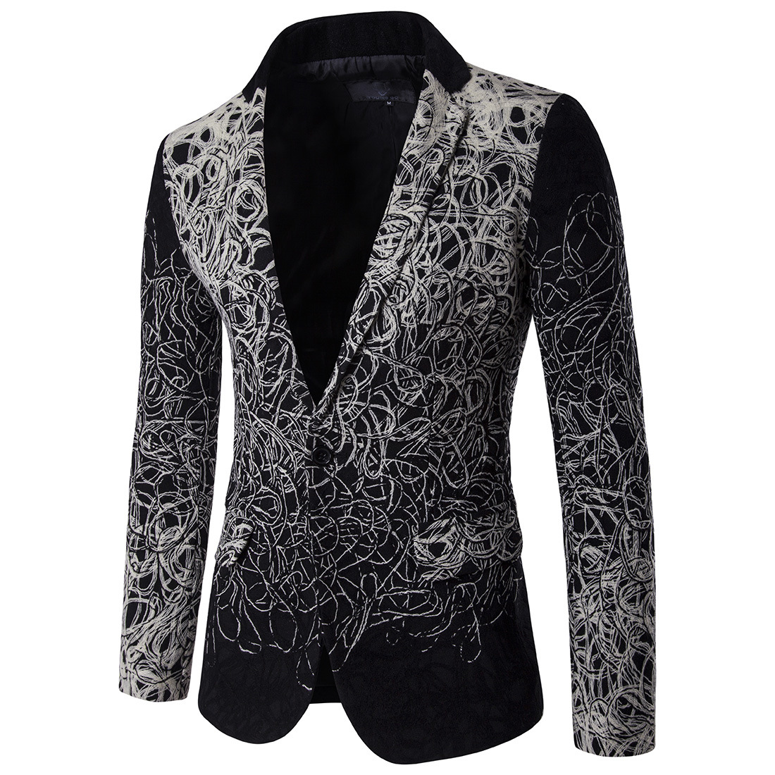 Men's Wear European American Fashion Explosions Outerwear Wholesale Single Breasted Suit Dropshipping Fashion Wedding Blazers