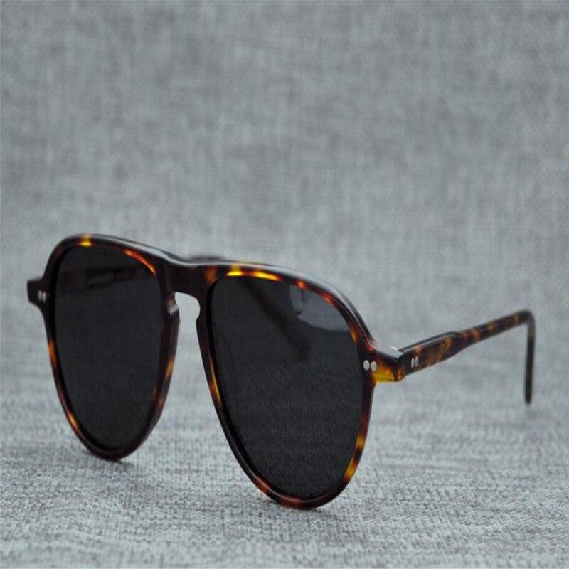 color4 Leopard Sonnenbrille Retro Vollrand Goggle color3 Color5 Fahren Polarisierte color1 Uv400 color2 Unisex Schutz Design Rahmen Marke Acetat 6q4wvUS