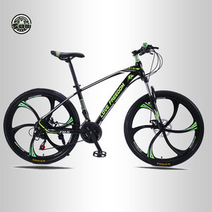 Love Freedom 21 Speed Mountain Bike 26-Inch High-Carbon Steel Dual Disc Brakes One Wheel Speed Damping Men Women Student Bicycle(China)