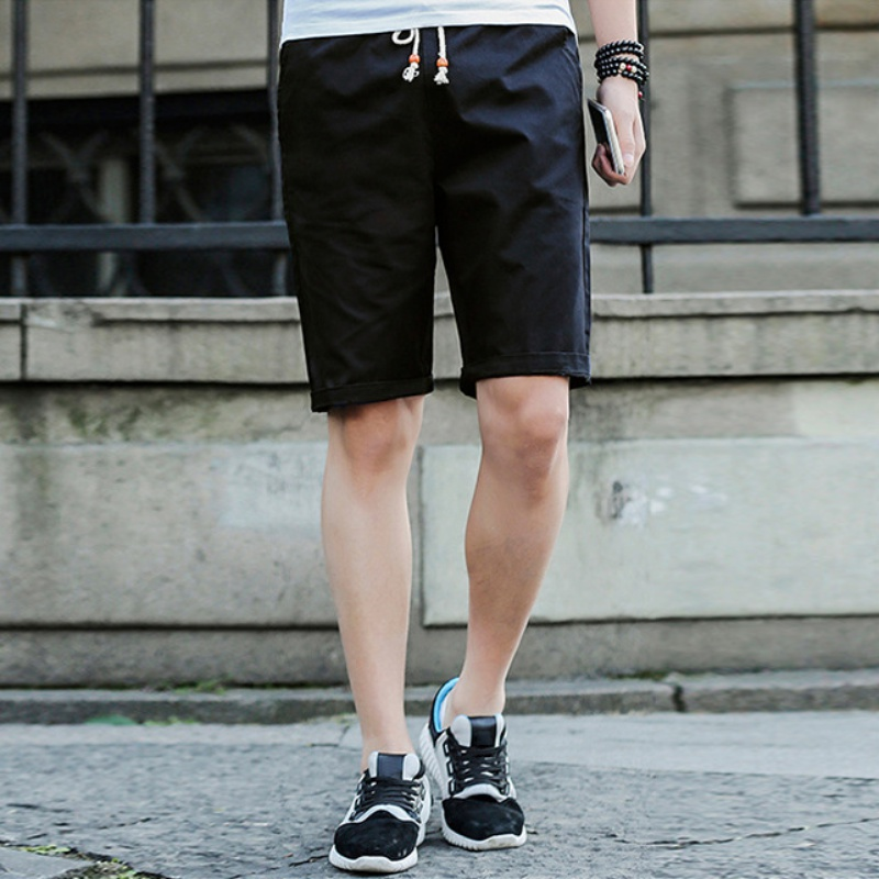 Plus Size Short Pants Men Shorts Casual Solid Cotton Fashion Brand Summer Breathable Male Comfortable Cool Short Mens Trousers