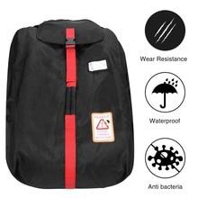 MODOKIT черный Водонепроницаемый автокресло сумка для ребенка безопасности Автокресло Обложка сумка Организатор multi-карманный путешествия сумка для хранения