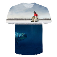 BLACK BUG Funny Birthday Gifts Present For Dad Him Father Fishinger T Shirt Printed