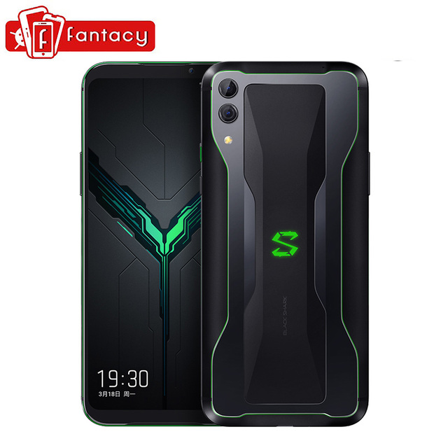 "New Xiaomi Black Shark 2 6GB 128GB Gaming Phone Snapdragon 855 Octa Core 6.39"" AMOLED FHD+ Screen Mobile Phone 48MP Camera"