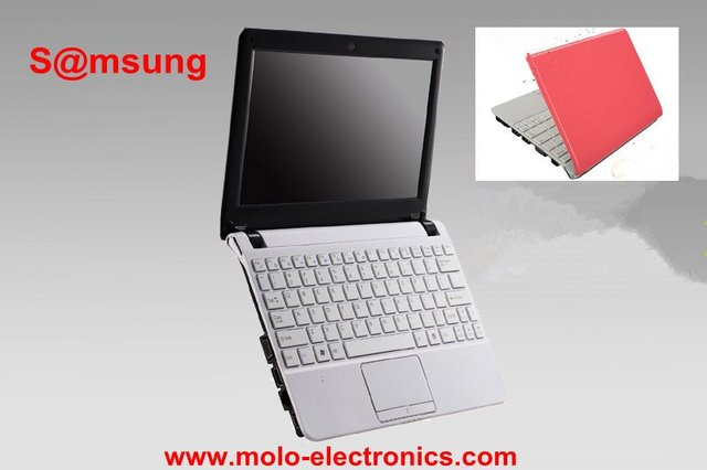Sa*msung mini laptop computer 10.2inch small notebook netbook  Intel atom N2600 Dual core W/option 4GB RAM 500GB
