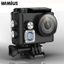 Wimius WIFI Sports Action Camera 4K Mini Video Helmet Cam Full HD 1080P 60fps 16MP Outdoor Cameras Go Waterproof 60M Pro Car DVR