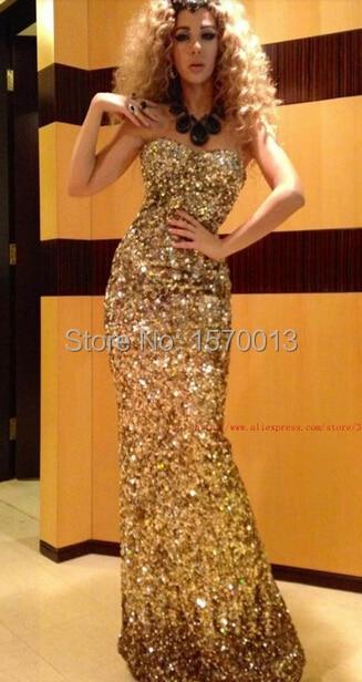 celebrity dresses 2015 myriam fares dresses Strapless Backless sequin cut  out back sexy evening prom dresses-in Celebrity-Inspired Dresses from  Weddings ... de75d901ef90