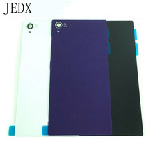 JEDX For Sony Xperia Z1 L39H C6902 C6903 Glass Battery Back Cover Door Housing Case With NFC Antenna Waterproof Sticker(China)