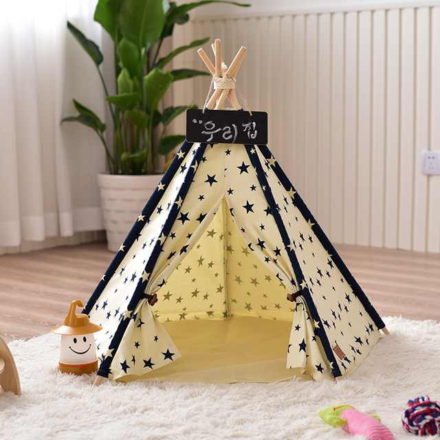 Star Dog Teepee Cat Tipi Cat Tent & Star Dog Teepee Cat Tipi Cat Tent -in Toy Tents from Toys u0026 Hobbies ...