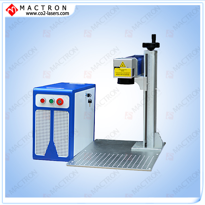 Macchina artigianale! Macchina per marcatura laser a fibra desktop per metallo, fibra per marcatura laser da 30W