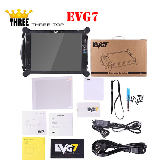 New Diagnostic Tablet PC EVG7 DL46/HDD500GB/DDR2GB 4GB 8GB Diagnostic Controller Tablet PC With Diagnostic Software BY DHL SHIP