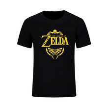 The Legend Of ZELDA Triforce Logo Game Mens Fashion T Shirt 2017 Summer Short Sleeve Cotton T-Shirt Tee Camisetas Hombre Tops