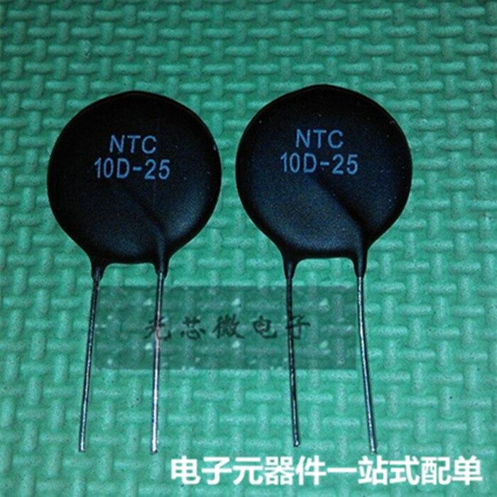 Original spot NTC 10D-25 NTC10D-25 10R 25MM thermistor